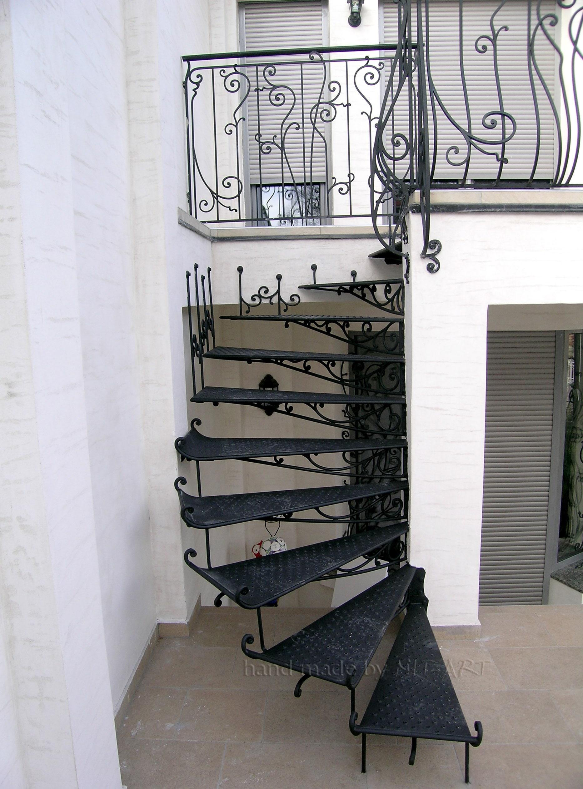 NIT-ART Kovano gvozdje stepenice