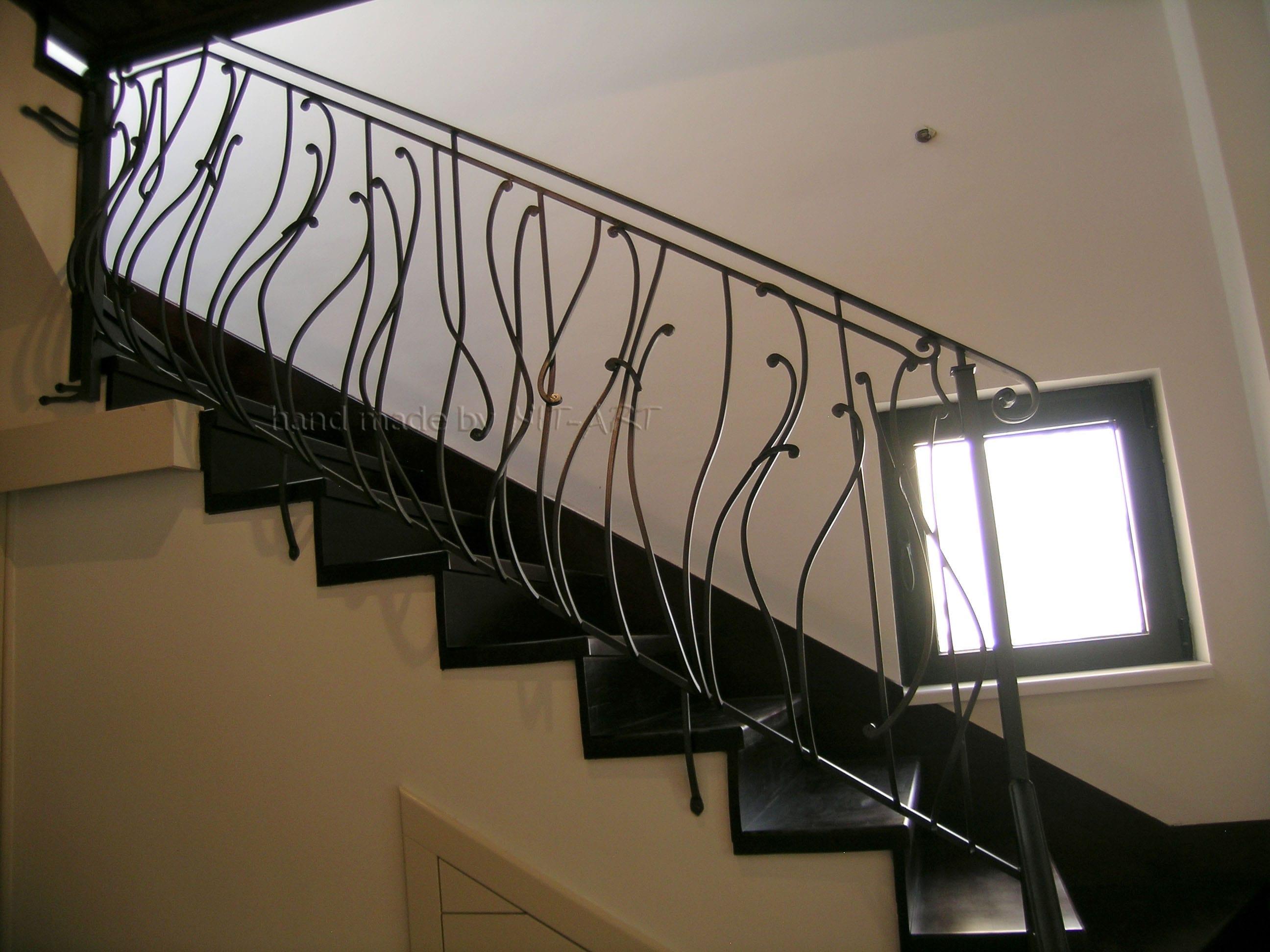 NIT-ART Kovana ograda za stepenice