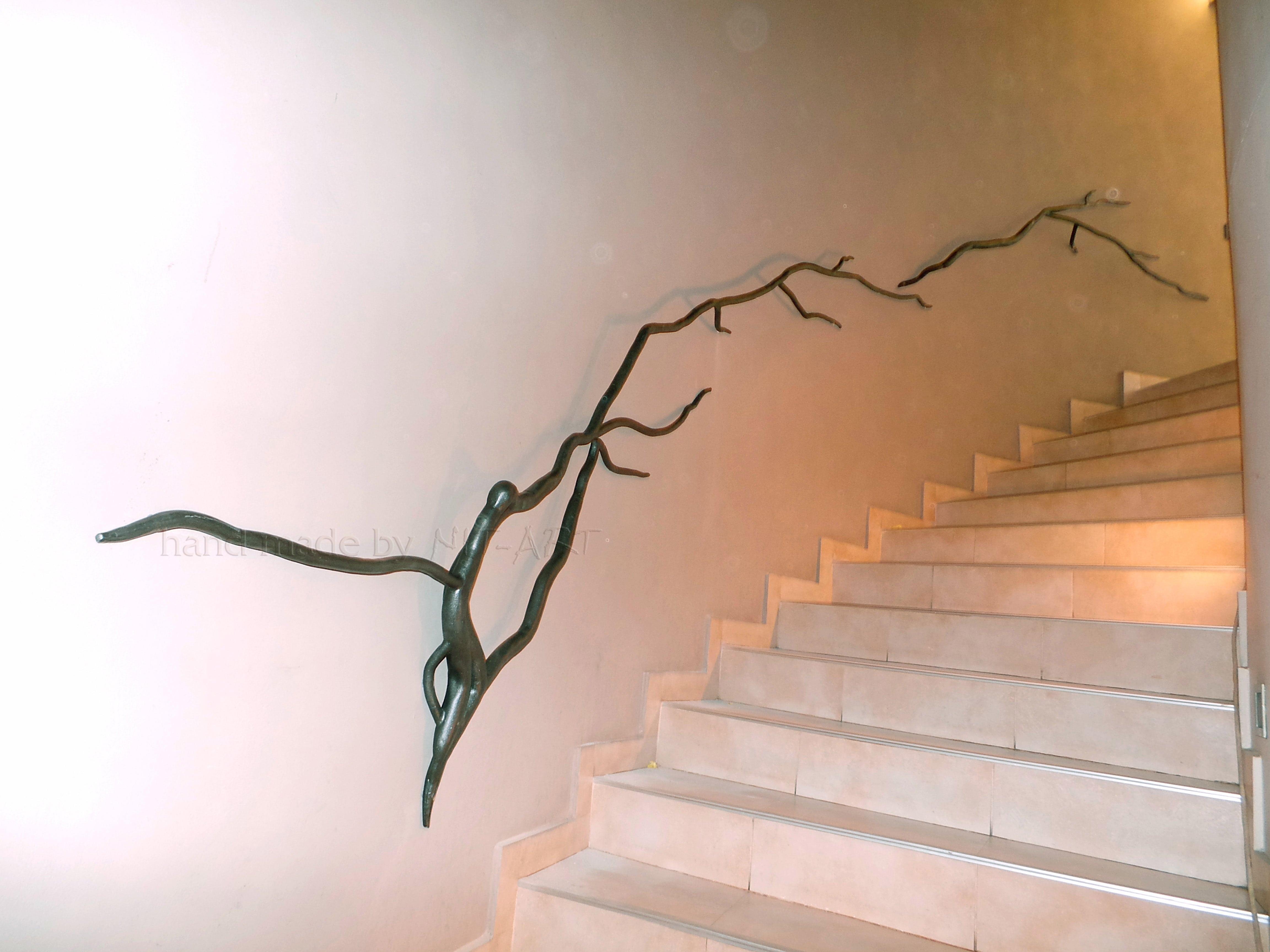 NIT-ART Kovano gvozdje, gelender za stepenice