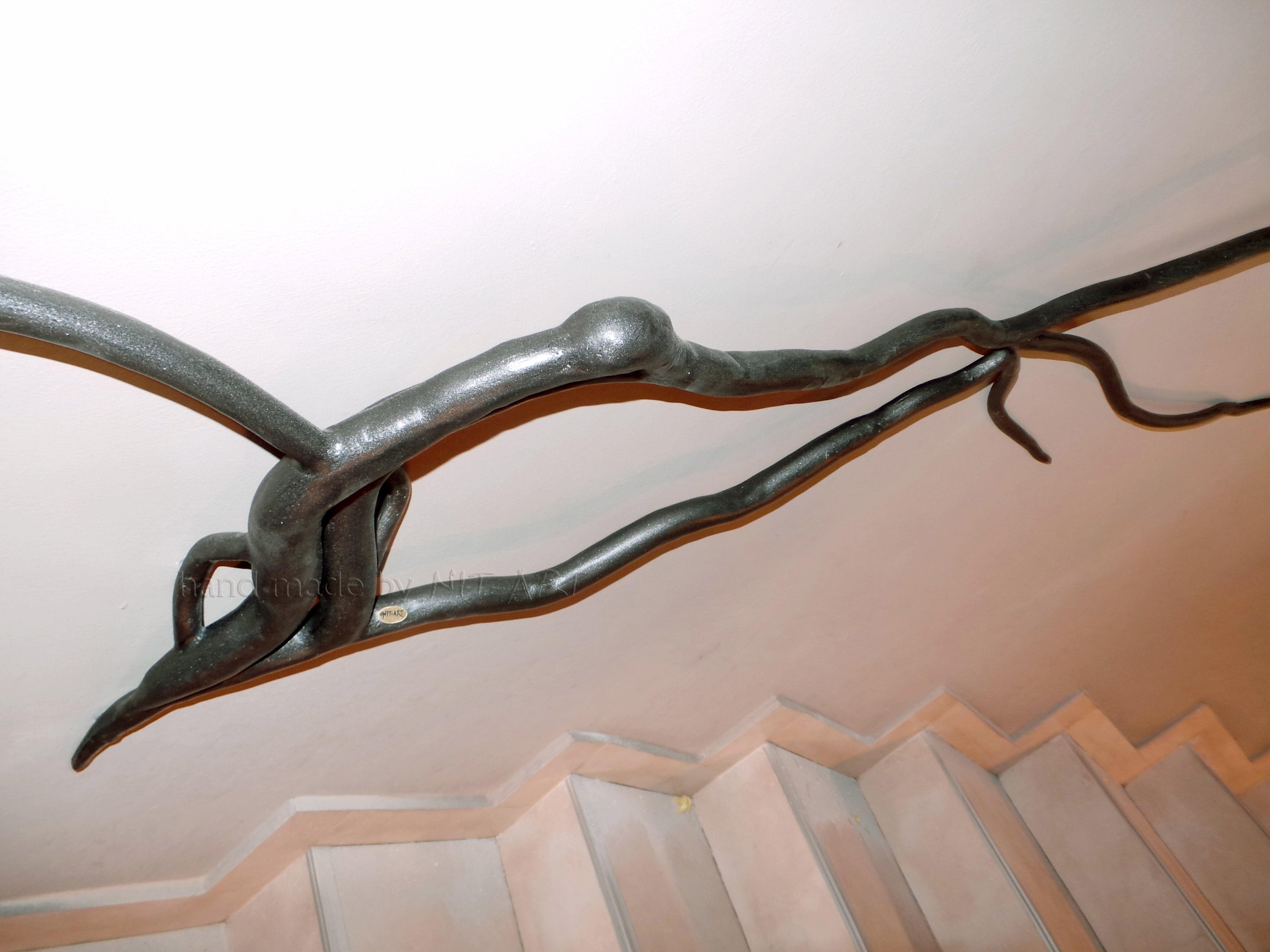 NIT-ART Kovano gvozdje, drvo