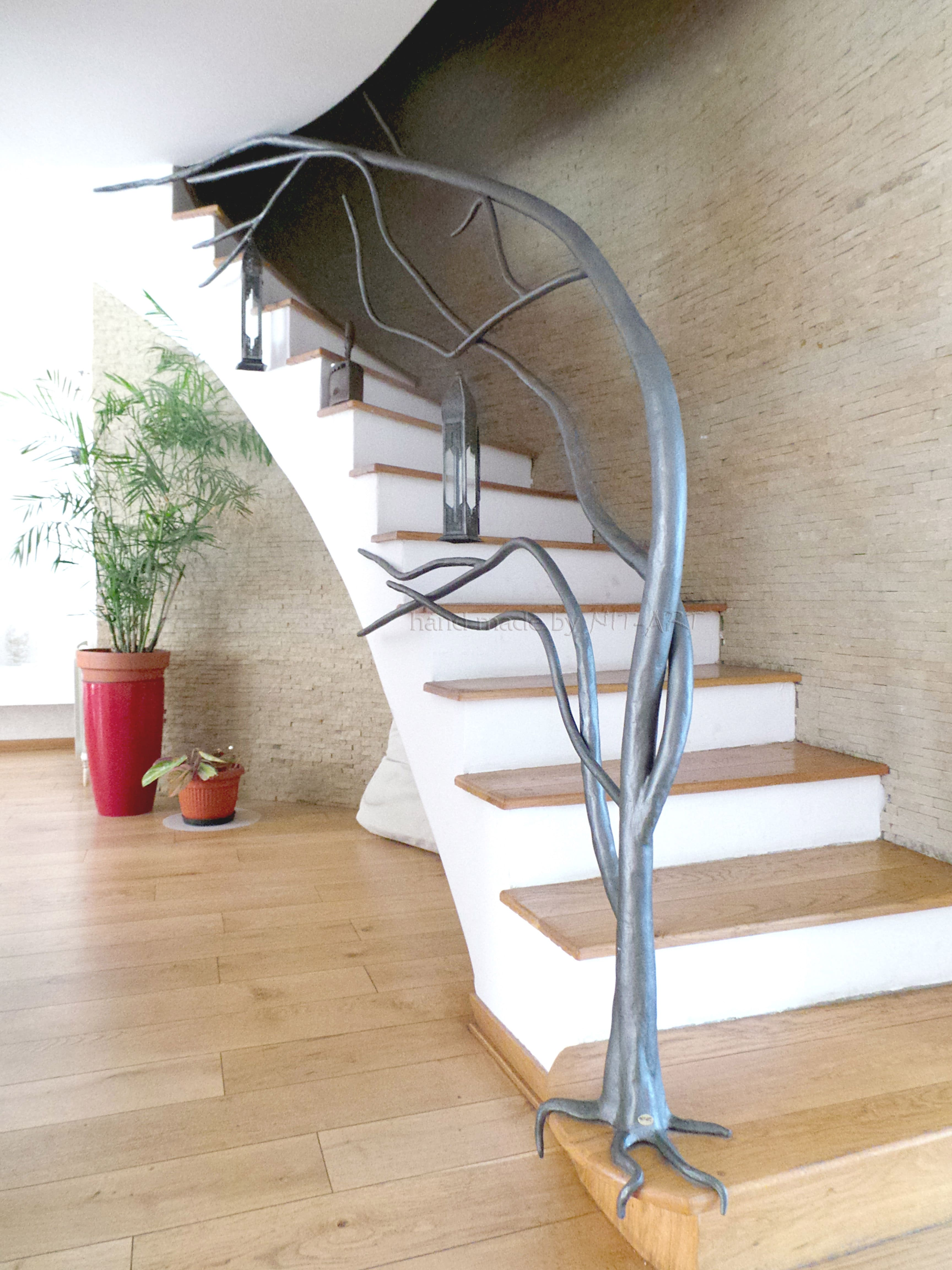 NIT-ART Kovano gvozdje, ograda za stepenice