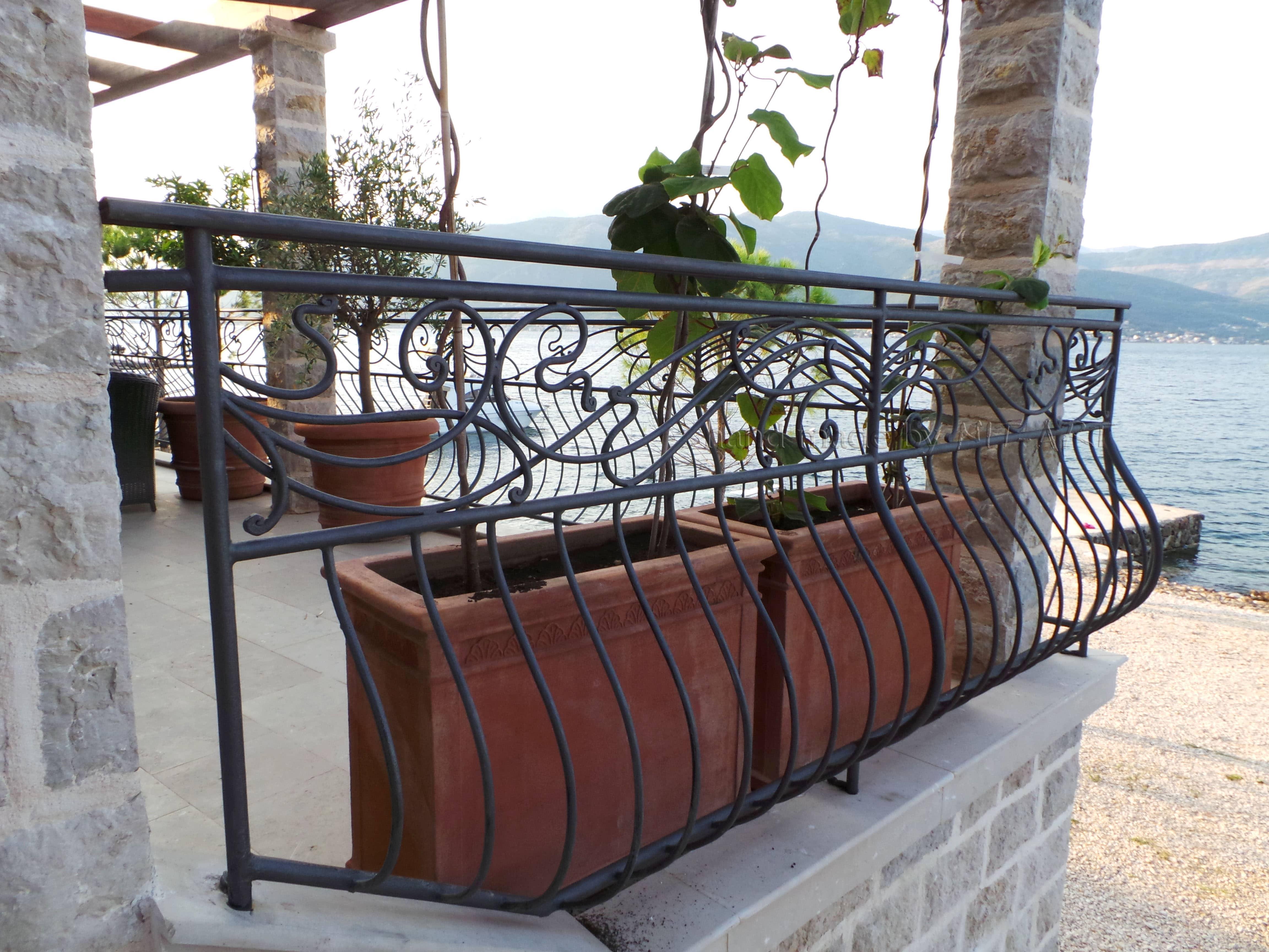 NIT-ART Kovano gvozdje, ograda za terasu