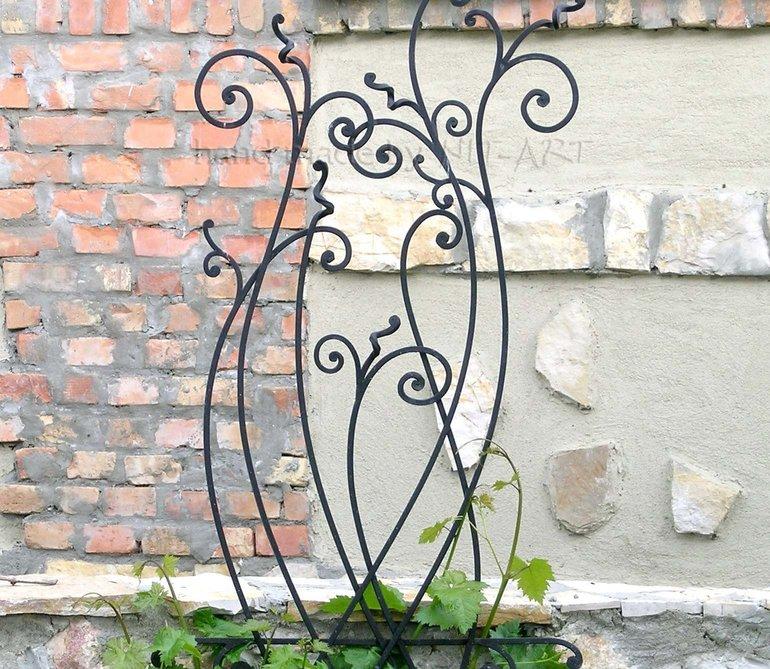 NIT-ART Kovano gvozdje, ograda za cveće